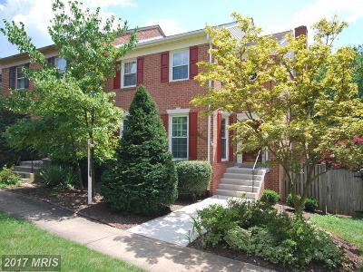 Fairfax Townhouse For Sale: 10307 Friendship Court