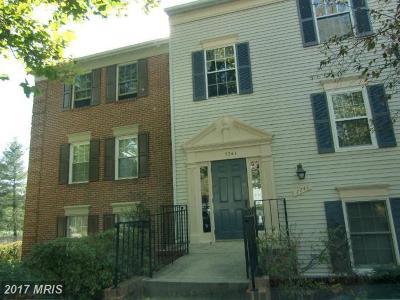 Falls Church Condo For Sale: 7741 Inversham Drive #187