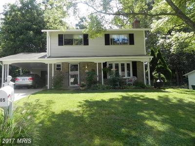 Springfield Single Family Home For Sale: 6805 Landor Lane