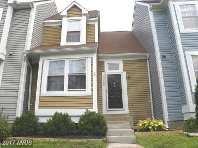 Centreville Townhouse For Sale: 5655 Thorndyke Court