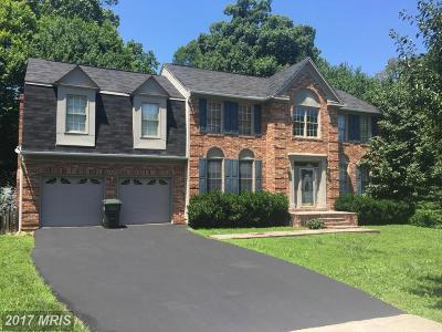 Fairfax Single Family Home For Sale: 8954 Sycamore Ridge Road