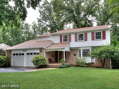 Springfield Single Family Home For Sale: 8203 Langbrook Road