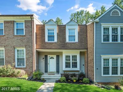 Springfield Townhouse For Sale: 7902 Forest Path Way