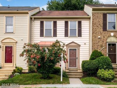 Fairfax Townhouse For Sale: 5537 Talon Court
