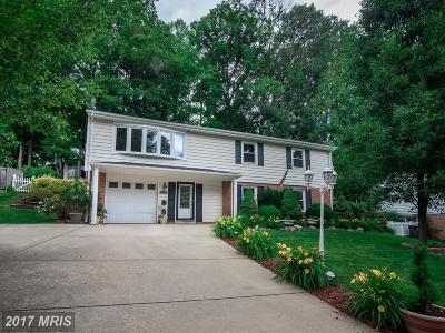 Springfield Single Family Home For Sale: 7208 Danford Lane