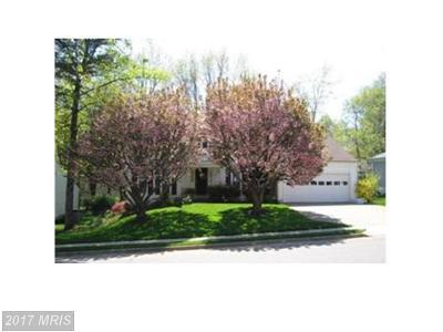Burke Single Family Home For Sale: 5830 Oak Leather Drive