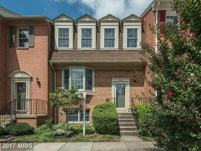 Oakton Townhouse For Sale: 3163 Stratford Court