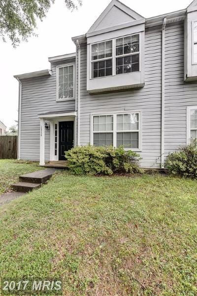 Centreville Townhouse For Sale: 14022 Grumble Jones Court