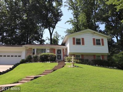 Springfield Single Family Home For Sale: 8121 Old Oaks Drive