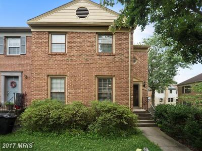 Fairfax Townhouse For Sale: 10291 Friendship Court