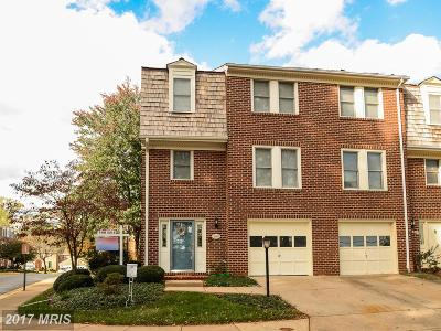 Oakton Townhouse For Sale: 2951 Oakborough Square
