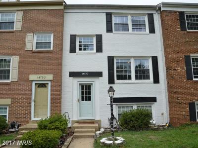 Centreville Townhouse For Sale: 14750 Gatwick Square