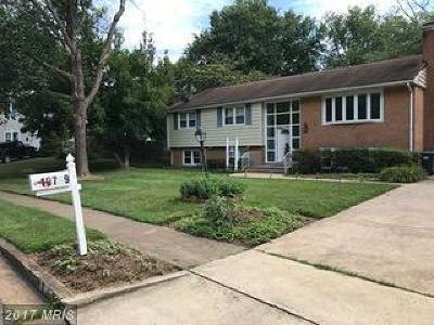 Fairfax Single Family Home For Sale: 10709 Almond Street