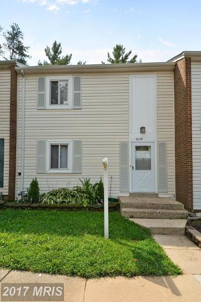 Burke Townhouse For Sale: 5139 Arrit Court