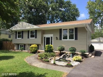 Alexandria Single Family Home For Sale: 4704 Perch Place