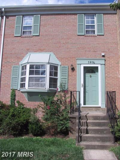 Lorton Townhouse For Sale: 7406 Pohick Road