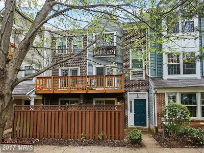 Fairfax Townhouse For Sale: 11820 Rockaway Lane #24