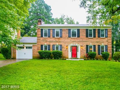 Alexandria VA Single Family Home For Sale: $535,000