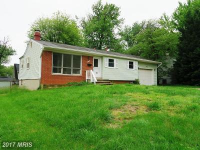 Falls Church Rental For Rent: 7433 Tillman Drive