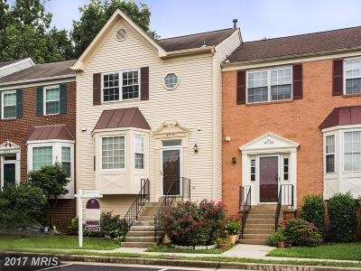 Centreville VA Townhouse For Sale: $359,900