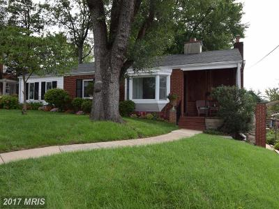 Falls Church Single Family Home For Sale: 2831 Cameron Road