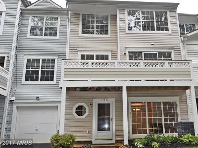Centreville Townhouse For Sale: 14451 Glencrest Circle #71