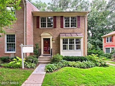 Springfield Townhouse For Sale: 9050 Rosewall Court
