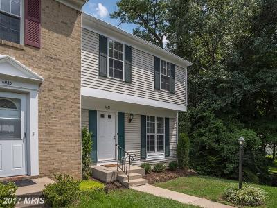 Burke Townhouse For Sale: 6037 Meyers Landing Court
