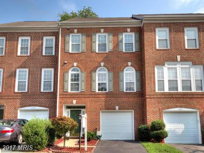 Fairfax Townhouse For Sale: 12252 Winscombe Terrace