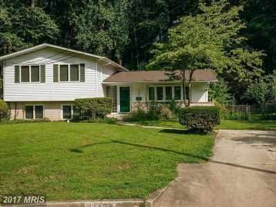 Fairfax Single Family Home For Sale: 11124 Byrd Court