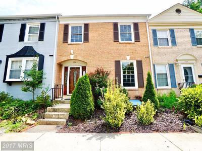 Springfield Townhouse For Sale: 7265 Evanston Road