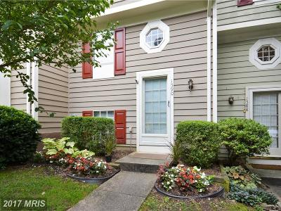Reston Townhouse For Sale: 1590 Woodcrest Drive