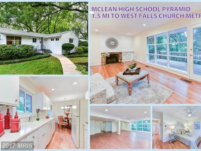 Falls Church Single Family Home For Sale: 7315 Pinewood Street