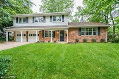 Annandale Single Family Home For Sale: 8309 Chivalry Road