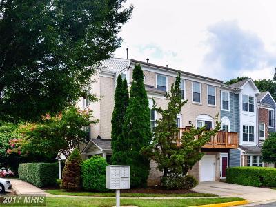 Fairfax Townhouse For Sale: 11814 Rockaway Lane #32