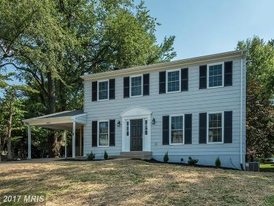 Fairfax Single Family Home For Sale: 10115 Spinning Wheel Court