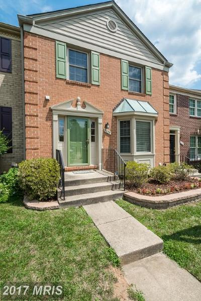 Annandale Townhouse For Sale: 5105 Kenside Court