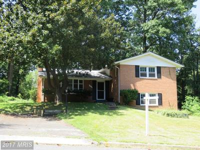 Annandale Single Family Home For Sale: 3908 Moss Drive