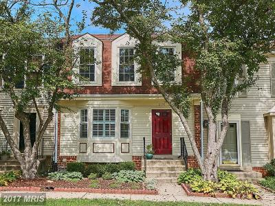 Alexandria Townhouse For Sale: 6555 Sand Wedge Court
