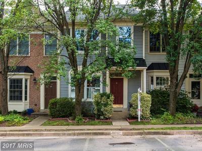 Centreville Townhouse For Sale: 14707 Bonnet Terrace