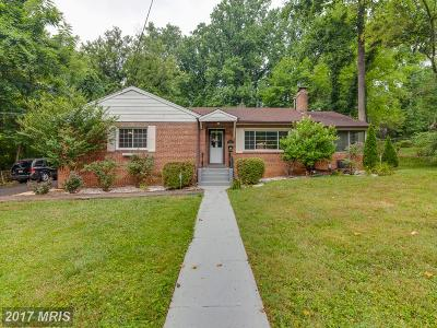 Falls Church Single Family Home For Sale: 2858 Rosemary Lane