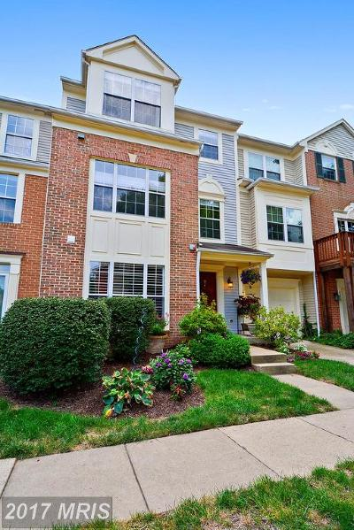 Fairfax Townhouse For Sale: 4357 Hackney Coach Lane #154
