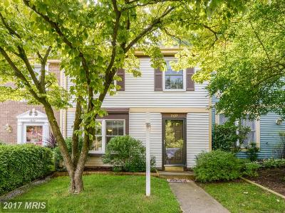 Reston Townhouse For Sale: 1607 Barnstead Drive