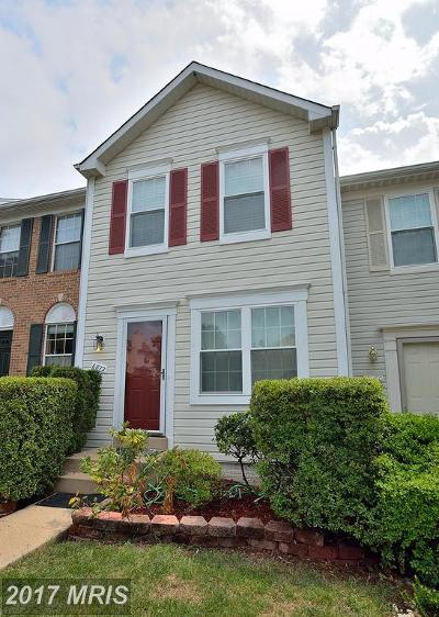 Centreville Townhouse For Sale: 6872 Chasewood Circle