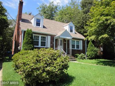 Falls Church Single Family Home For Sale: 2854 Lawrence Drive