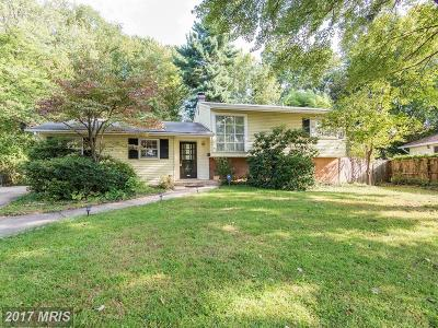 Vienna Single Family Home For Sale: 8325 Wesleyan Street