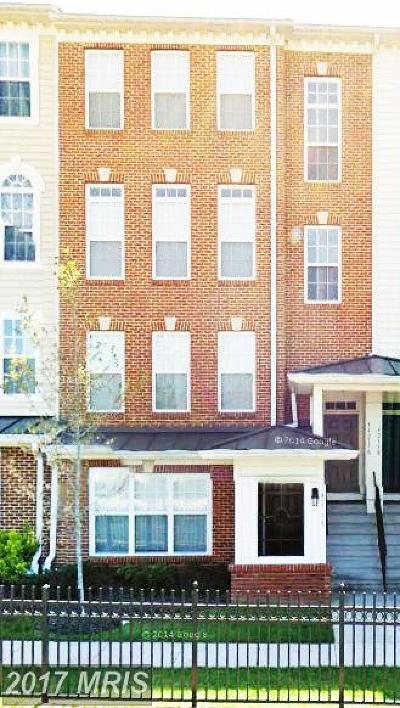 Centreville Crossing Townhouse For Sale: 14213 Saint Germain Drive #24