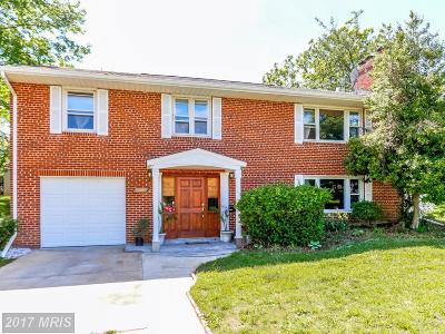 Alexandria Single Family Home For Sale: 4520 Kling Drive