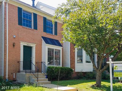 Centreville Townhouse For Sale: 14603 Flower Hill Court