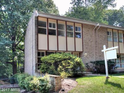 Annandale Townhouse For Sale: 7825 Patriot Drive